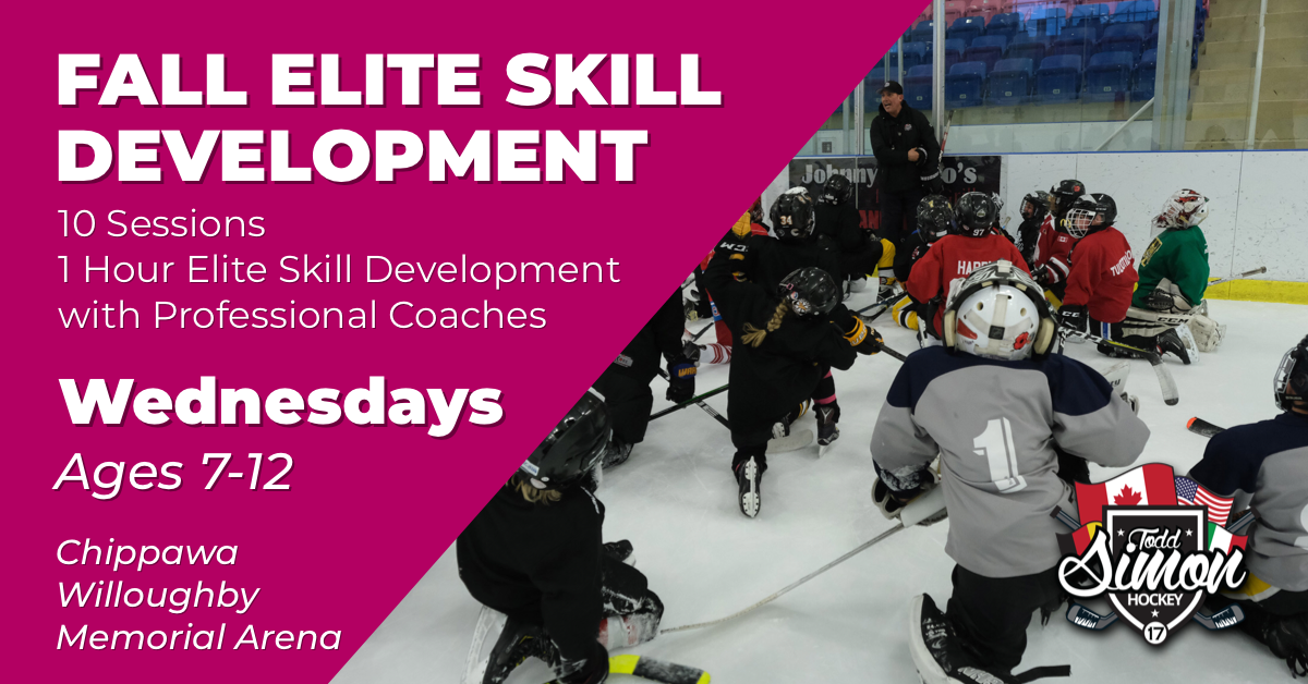 WEDNESDAY FALL ELITE SKILL DEVELOPMENT